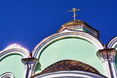 The top of the church — Stock Photo