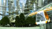 Zukünftige Stadt — Stockfoto