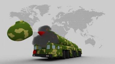 弹道导弹防御系统 — 图库视频影像