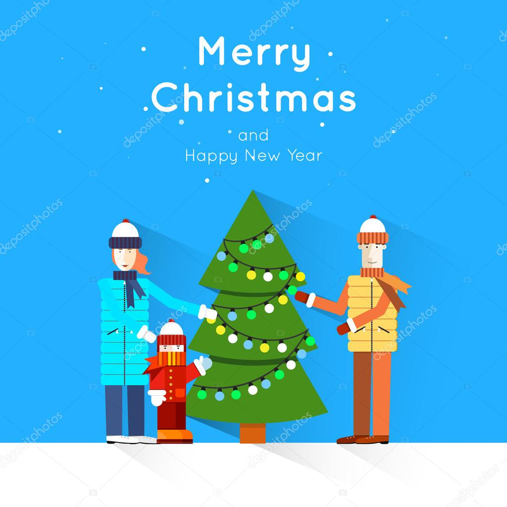 merry christmas and happy new year greeting card templates poster merry christmas and happy new year greeting card templates poster banner card sticker flat design vector by odis