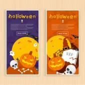 Happy halloween plakat — Wektor stockowy