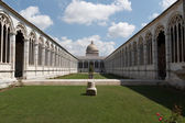 Monumental Cemetery - Camposanto Monumentale in Pisa — Stock Photo