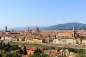 Vista hacia Florencia — Foto de Stock