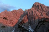 Alpenglow at Totenkirchl — Stock Photo
