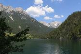 Hintersteiner See and Wild Kaiser — Stok fotoğraf