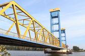 Kattwyk Bridge in Hamburg — Stock Photo