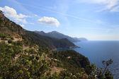 View across Mallorcas west coast — Stock Photo