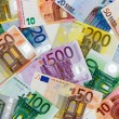 Different Euro banknotes from 5 to 500 Euro — Stock Photo #64532309