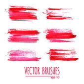Brushes collection — Stockvector