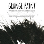 Grunge paint background — Stock Vector