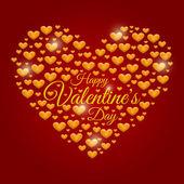 Fondo del día de San Valentín — Vector de stock