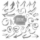 Arrow collection set — Stock Vector