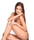 Nude beautiful woman — Stock Photo