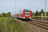 S-Bahn of Munich, Germany — Stock Photo