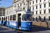 Historic tramway in Munich,  Germany — Stockfoto