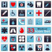 Medical icon set — Stock Vector