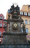 Pillar of the Holy Trinity in Karlovy Vary — Stock Photo