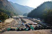ヒマラヤのテント キャンプ — Stock fotografie