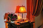 Bedside table — Fotografia Stock