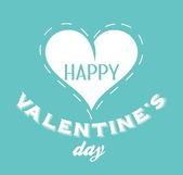 Valentines day vintage emblem — Stockvector