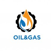 Oil and gas industry iillustration — Stock Vector
