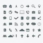 Universal Outline Icons For Web and Mobile  — Vettoriale Stock
