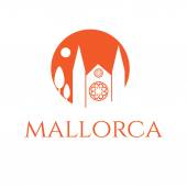 Illustration of icon of mallorca. Vector — Stock Vector