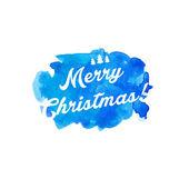 Çizgi film karakteri bir kış manzarası Noel Baba. vektör — Stok Vektör