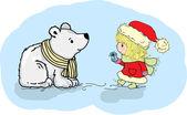 Christmass illustration — Stock Vector