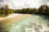 Vilda floden — Stockfoto