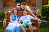 Family2 — Fotografia Stock