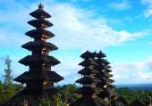 Tempio di Besakih a Bali — Foto Stock
