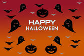 Halloween wallpaper background — Stock Photo