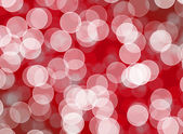 Blurred bokeh with abstract red background layout design, web te — Stockfoto