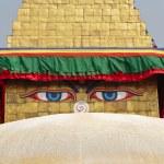 Buddhist temple in the Kathmandu,, Nepal Himalaya — Stock Photo #53388469