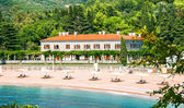 He Sveti Stefan beach — Stock Photo