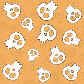Halloween Background. Vector illustration. — Stock Vector