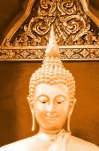 Buddha statue in Hong Thong temple, thailand — Stock Photo