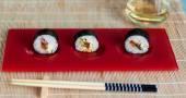 Vegan sushi — Stock Photo