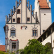 Hohes schloss, castle in the middle of Fussen, Bavarian Alps — Stock Photo #77887704
