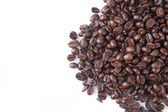 Pile of roasted coffee beans — Stock Photo