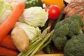 Colorful fresh mixed vegetables — Fotografia Stock