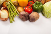 Colorful fresh mixed vegetables — Stock Photo