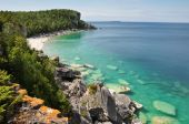 Bruce Peninsula in summer time, Ontario, Canada — Stock Photo