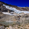 Постер, плакат: Iceline trail in Yoho National Park along with glaciers British