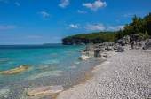 Bruce Peninsula in summer time, Ontario, Canada — Stockfoto