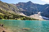 Crypt lake in Waterton National Park, Alberta, Canada — Stock Photo