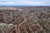 Badlands National Park, South Dakota, USA — Stock Photo