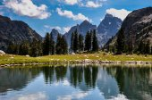 Paintbrush Canyon Trail in Grand Tetons National Park, Wyoming, — Stock Photo