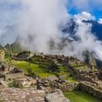 View over Machu Picchu Inca ruins, Peru — Stock Photo #53273527